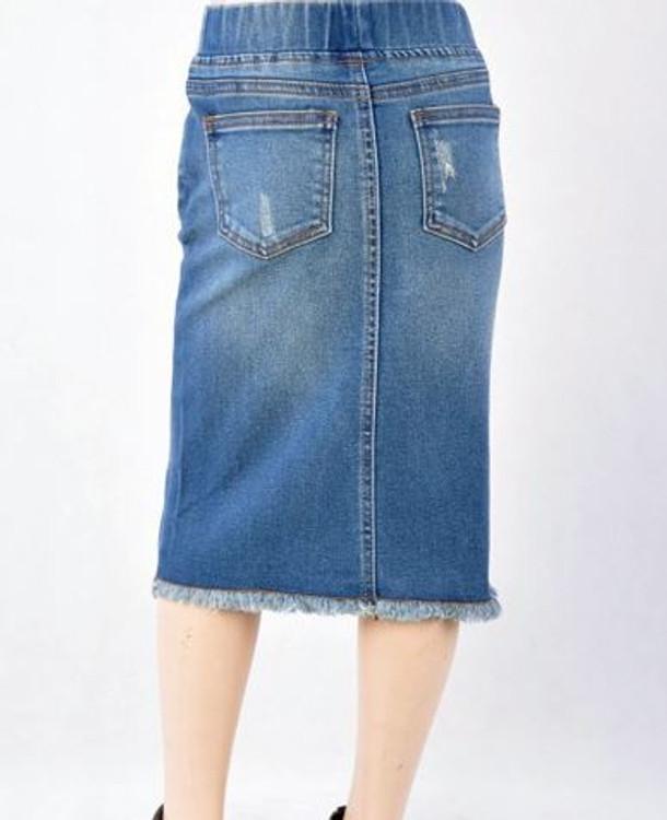 Nicole Denim Skirt Med Wash *Girls*