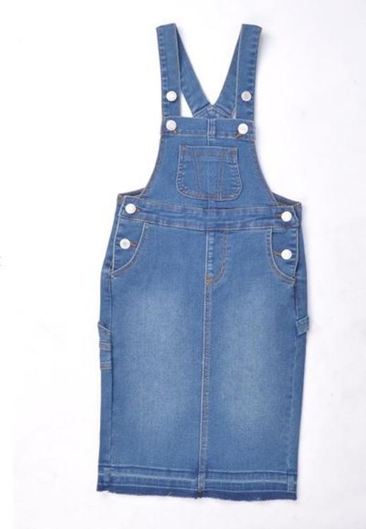 Savannah Overall Jumper Dress *Vintage Wash* Kids