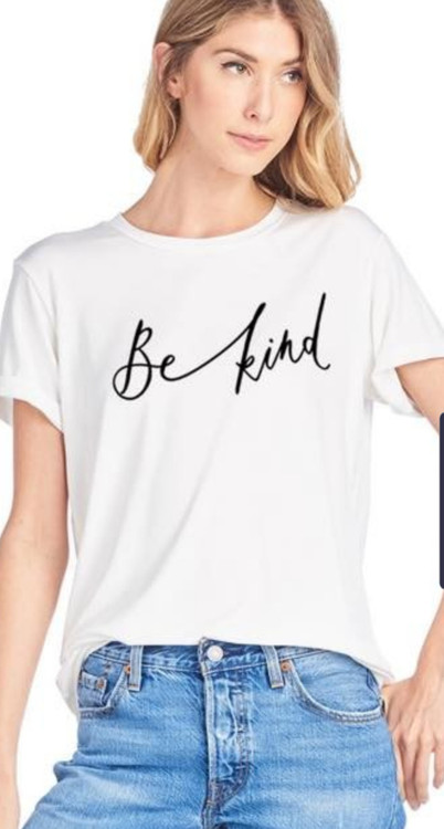 Be Kind Tee in White