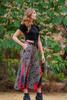 MARLEE Bohemian Silk Flare Pants (s/m) in Latin Lover
