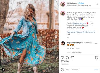 "3 Ways ""It"" Girls are Wearing Boho Fashion in 2021"