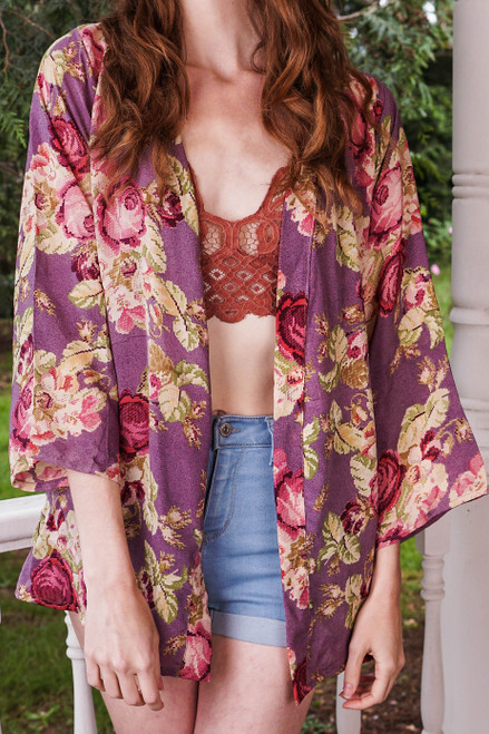 SHANNON Duster in Lush (onesize)