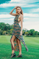 EDEN MAXI Silk Backless Key Hole Dress in Evening on the Terrace (one size)