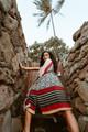 KIMONO Luxurious Printed Silk  Boho Robe in Foxy Lady (onesize)