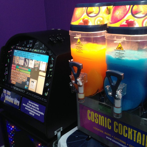 Slushy Machine and Jukebox hire, what more could you want