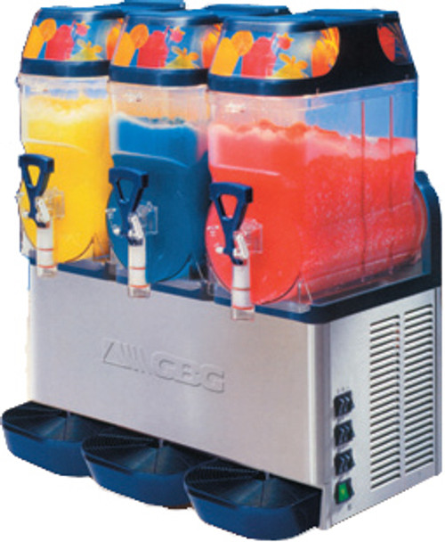 3 Bowl Frozen Cocktail Machine, choose from 30+ Flavours