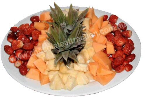 Finger Food Platter Dipping Fruit Small