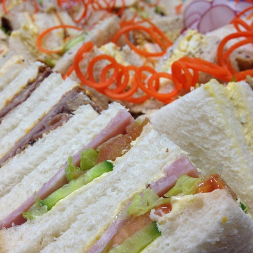 Sandwich platters are suitable for almost any event or party.