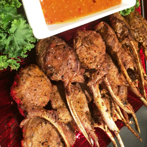 These lamb cutlets with have your guests chasing down the wait staff