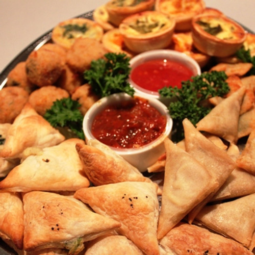This is our number one Hot Vegetarian Platter.