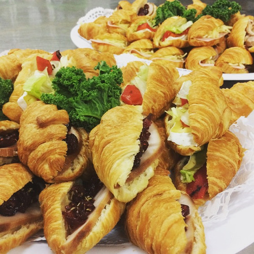 Great for Breakfast Meetings or Morning Tea these Croissants have multiple fillings.