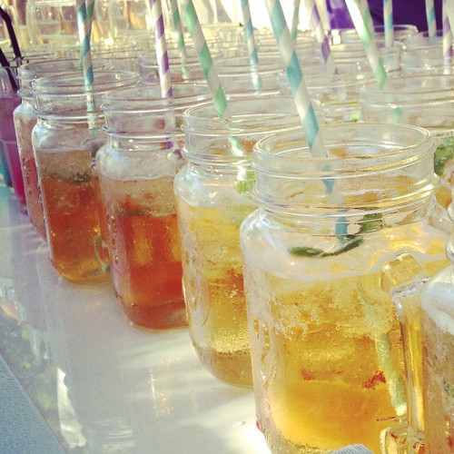 These Mason Jars are great for those rustic bars  or to create a retro feel.