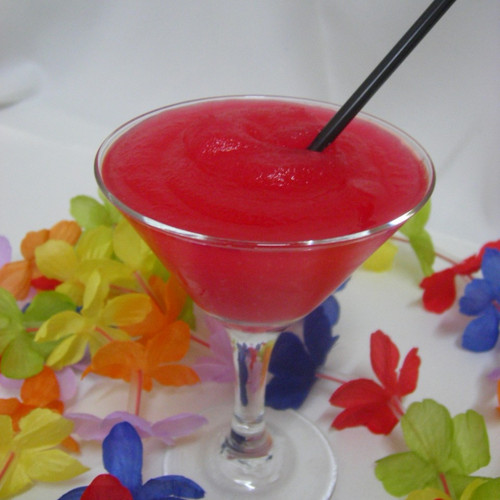 Perfect frozen summer drink for kids and adults alike.
