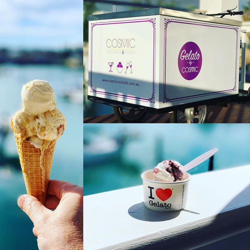 Gelato Cart Hire Perth, with gourmet Gelato.