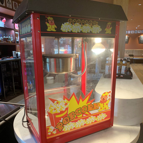 Our Popcorn machines are perfect for your next event, party or tradeshow.