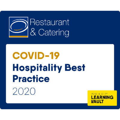 Restauant & Catering Covid-19 Hospitality Best Practices Badge