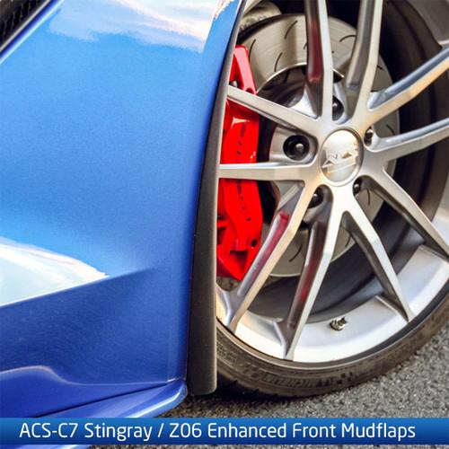 ACS-C7 Corvette Stingray / Grandsport / Z06 / ZR-1 Enhanced Front Mudflaps