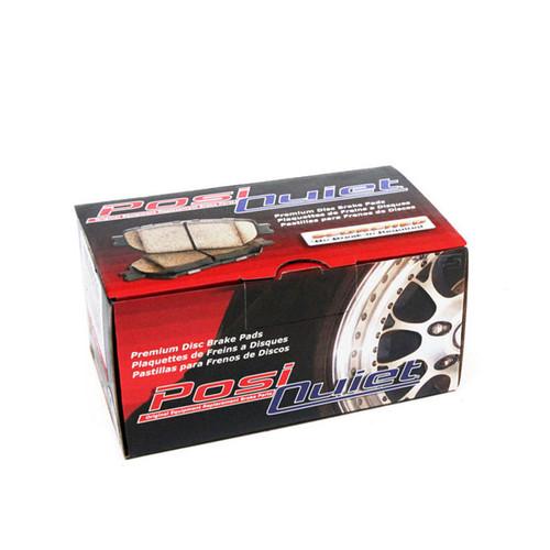 Centric Posi Quiet Ceramic Front Brake Pads (AKEBONO) - 08+ G37, 09+ 370z, M37/56/Q70, 2014+ Q50, 2017+ Q60