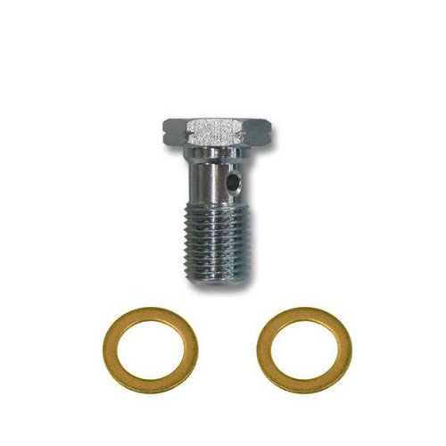Banjo Bolt w/ Washers for Akebono or Brembo Caliper 350z Brakes
