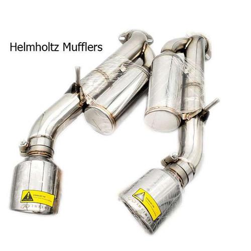 INFINITI OEM Sport Performance Axle Back Exhaust w/Helmholtz Mufflers - 2014+ Q50 Q50 Exhaust