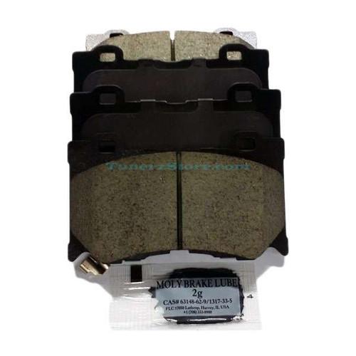 INFINITI OEM AKEBONO Maintenance Advantage Front Brake Pads w/Shims - G37, 370z, Q50, Q60, Q70 Sport Calipers 370z Brakes