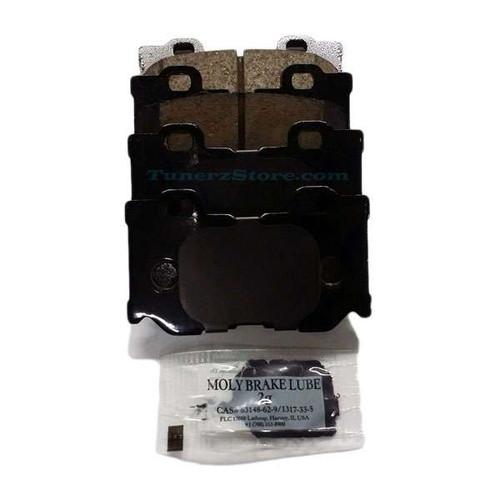 INFINITI OEM AKEBONO Maintenance Advantage Rear Brake Pads w/Shims - G37, 370z, Q50, Q60, Q70 Sport Calipers 370z Brakes