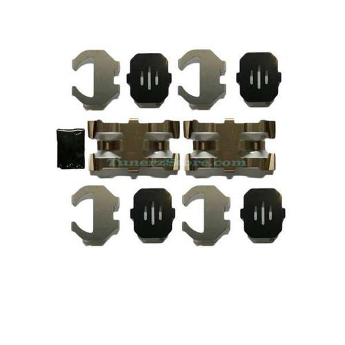 INFINITI OEM AKEBONO Sport Rear Caliper - Spring and Pad Shim Kit 370z Brakes