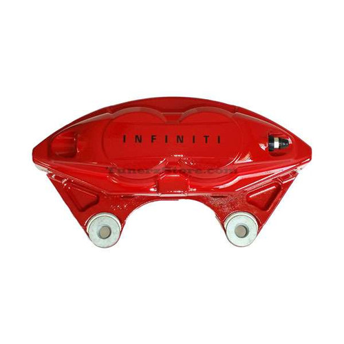 INFINITI OEM AKEBONO Red Sport Front Caliper - Q60, G37, Q50, Q70 - LH G37 Brakes