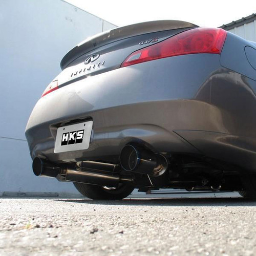 HKS Hi Power Dual Exhaust - 2008+ G37/Q60 Coupe