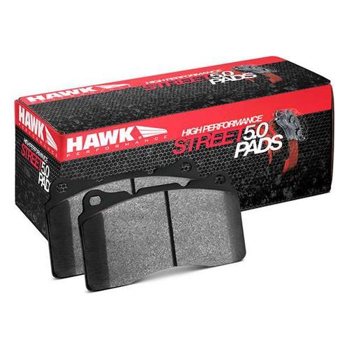 Hawk HPS 5.0 Front Brake Pads (AKEBONO) - 08+ G37, 09+ 370z, M37/56/Q70, 2014+ Q50, 2017+ Q60 370z Brakes