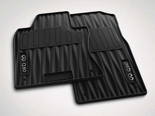 OEM Black All Season Floor Mats - 2017 Q60 Coupe INFINITI OEM Accessories