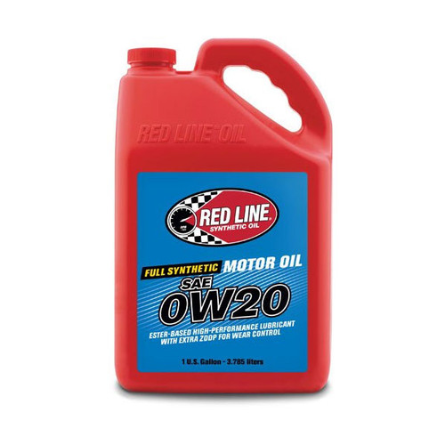 Red Line 0W20 Motor Oil - Gallon