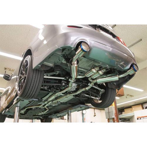 HKS Hi Power Dual Exhaust - Q50 Sedan