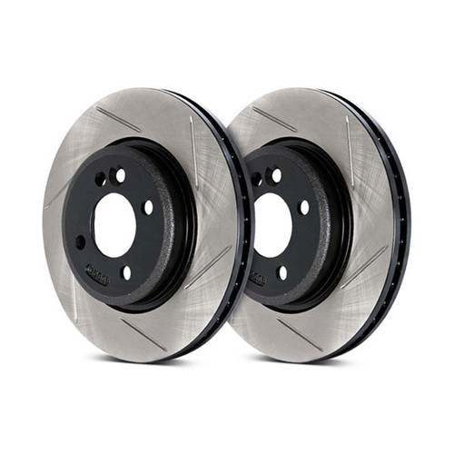 Stoptech Slotted OE Design Front Rotors 2015+ Lexus RC F