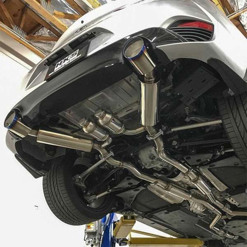 HKS Hi Power Dual Exhaust - 2017+ Q60 Q60 Exhaust