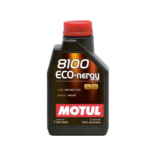 Motul 1L Synthetic Engine Oil 8100 5W30 ECO-NERGY