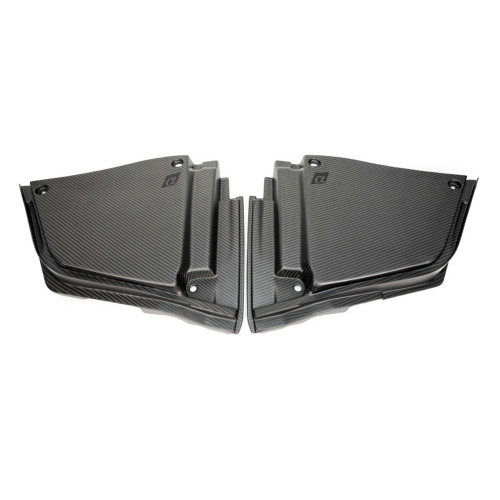 AMS Performance Infiniti 17+ Q60 / 16+ Q50 3.0TT Alpha Matte Carbon Rear Engine Bay Cover Set