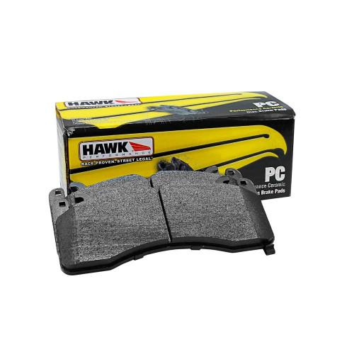 Hawk Ceramic Front Brake Pads (AKEBONO) 08+ G37, 09+ 370z, M37/56/Q70, 2014+ Q50, 2017+ Q60