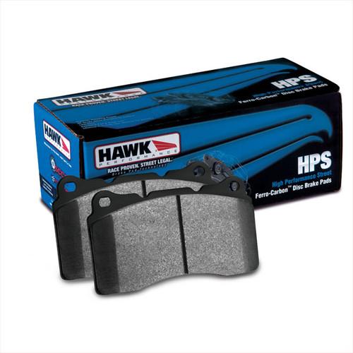 Hawk HPS Front Brake Pads (AKEBONO) - 08+ G37, 09+ 370z, M37/56/Q70, 2014+ Q50, 2017+ Q60