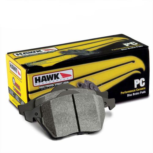 Hawk Ceramic Rear Brake Pads - Non Sport - 09+ G37 Sedan, 09 G37 Coupe AWD