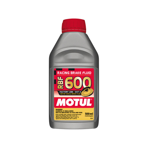 Motul RBF600 Brake Fluid Synthetic DOT 4 500ml