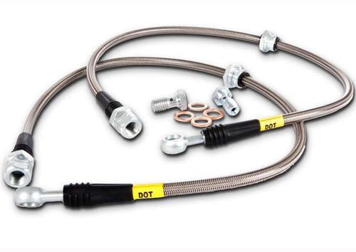 Stoptech Stainless Steel Rear Brake Lines 07-08 G35 Sedan, 08+ G37, 09+ 370Z, 06+ M35/M45/M37/56/Q70 370z Brakes