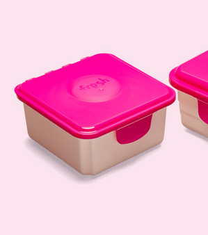 NEW Fresh Wipes Container PINK