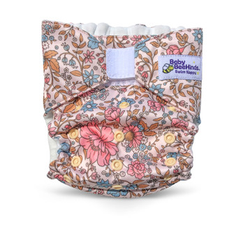 Vintage Rose Adjustable swim nappy (5kg to 20kg)
