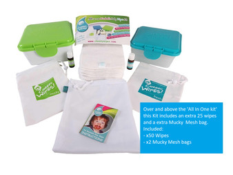 Terry Cotton Baby Wipes