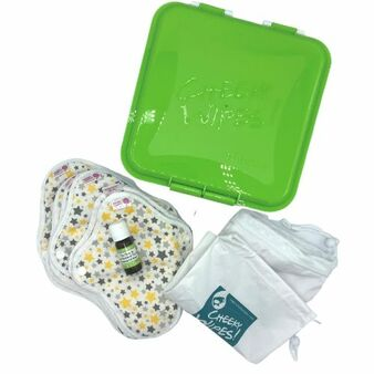 Cloth sanitary pads kits (with new container)