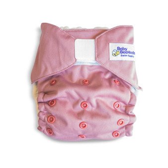 Dusty Rose Adjustable swim nappy (5kg to 20kg)