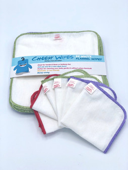 Cotton Flannel Wipes