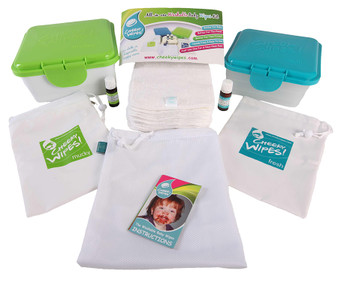 Cheeky Wipes All In One Kit