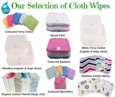 Are you interested in using Natural Cloth Baby Wipes?